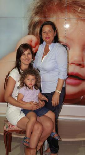 serenella, alessandra, alice: la sanitaria dal 1980, una storia di famiglia